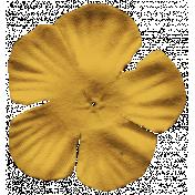 Autumn Art Flower- Yellow