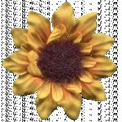 Autumn Art Flower- Sunflower