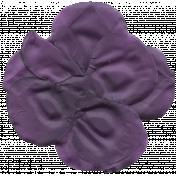 Autumn Art Flower- Purple