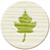 Autumn Art Wood- Leaf