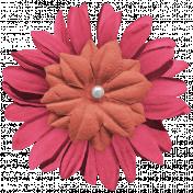 Kawaii Halloween Flower- Pink