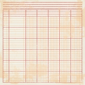 Notebook Paper 16- Orange