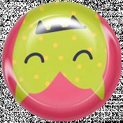 Kawaii Halloween Brad- Pink