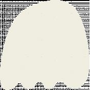 Kawaii Halloween Stamp- Ghost