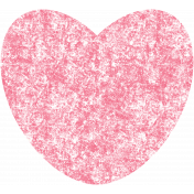 Kawaii Halloween Stamp- Pink Heart