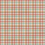 Plaid Paper 11- Red, Orange & Mint