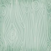 Drawn Wood- Teal