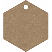 Tag Shape 03- Chipboard 6