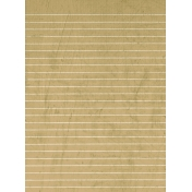 Tan Lined Paper