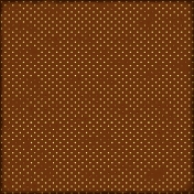 Brown Polka Dot Paper