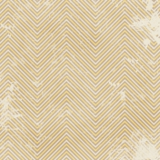 Chevron 03- Brown & Yellow- Distressed