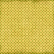 Polka Dots 23- Yellow & Green- Distressed