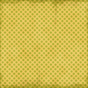 Polka Dots 23- Yellow & Green- Distressed