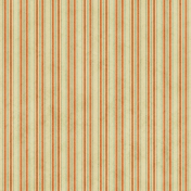 Stripes 02- Tan, Orange, Teal