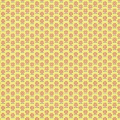 Floral 51- Yellow & Coral