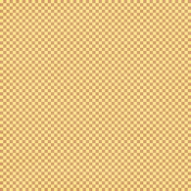 Gingham- Yellow & Coral