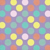 Polka Dots Paper 44- Purple