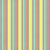 Stripes 07- Yellow & Teal