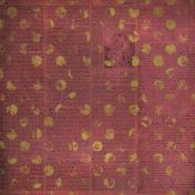 Polka Dots/Ephemera Distressed Paper
