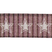 Purple Star Ribbon