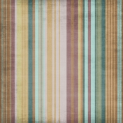 Stripes 23- Brown, Purple & Teal