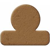 Tab 12- Brown Chipboard