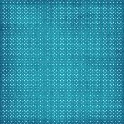 Blue Polka Dot Paper