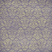 Ornamental Paper- Purple & Yellow