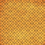 Argyle 12- Orange & Brown