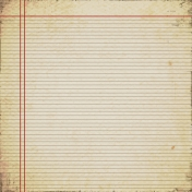Grungy Notebook Paper 01