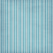 Stripes 02 Paper- Blue & White