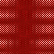 Polka Dots 16- Red & White