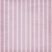 Blue Pink Dots and Stripes Paper