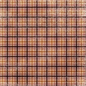 Plaid Paper- Brown & White