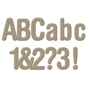 Chipboard Sans Serif Alpha 2