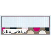 Rectangle Grid Tag- The Best