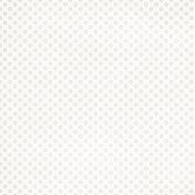 Polka Dots 12- White & Tan