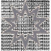 Textured Grunge Star 02