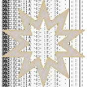 Textured Grunge Star 05