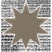 Textured Grunge Star 08