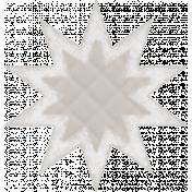 Textured Grunge Star 13
