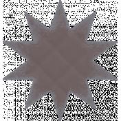Textured Grunge Star 17