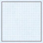 Square Grid Tag- Blue & Gray