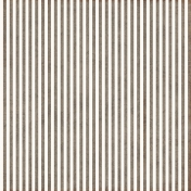 Stripes 54- White & Brown