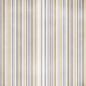 Stripes Paper- Gray & Brown
