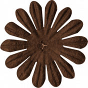 Brown Paper Flower