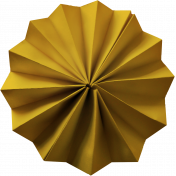 Paper Flower 20- Yellow