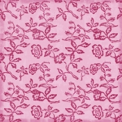 Floral Paper- Pink