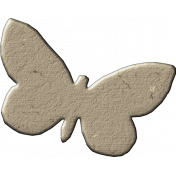 Chipboard Butterfly