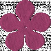 Paper Flower 09- Pink